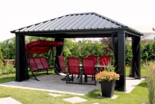 v randa jardin gaz bos gazebos. Black Bedroom Furniture Sets. Home Design Ideas