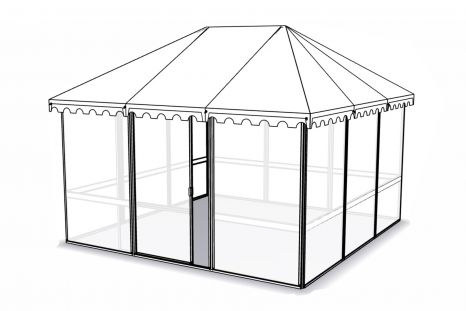 Véranda Jardin > Gazebos > 4 Seasons Gazebo